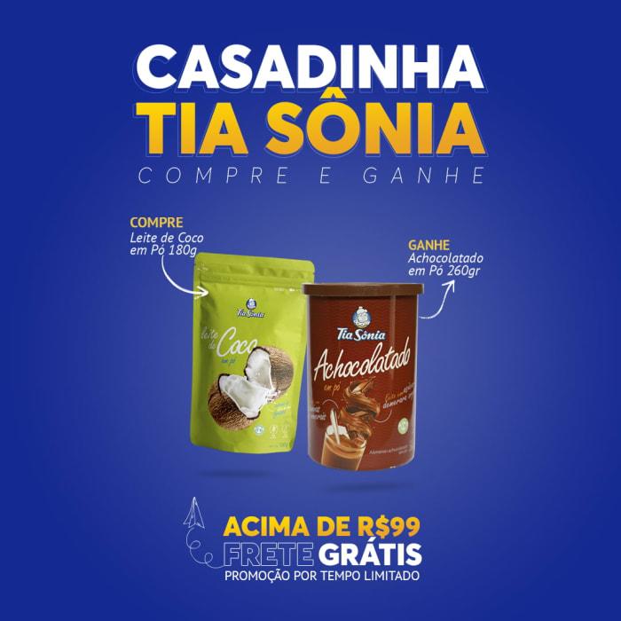 Compre Leite de Coco e Ganhe Achocolatado