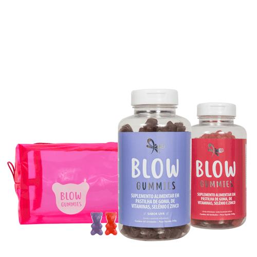 Blow Gummies 120 Dias de Tratamento Sabores Morango Uva (0)
