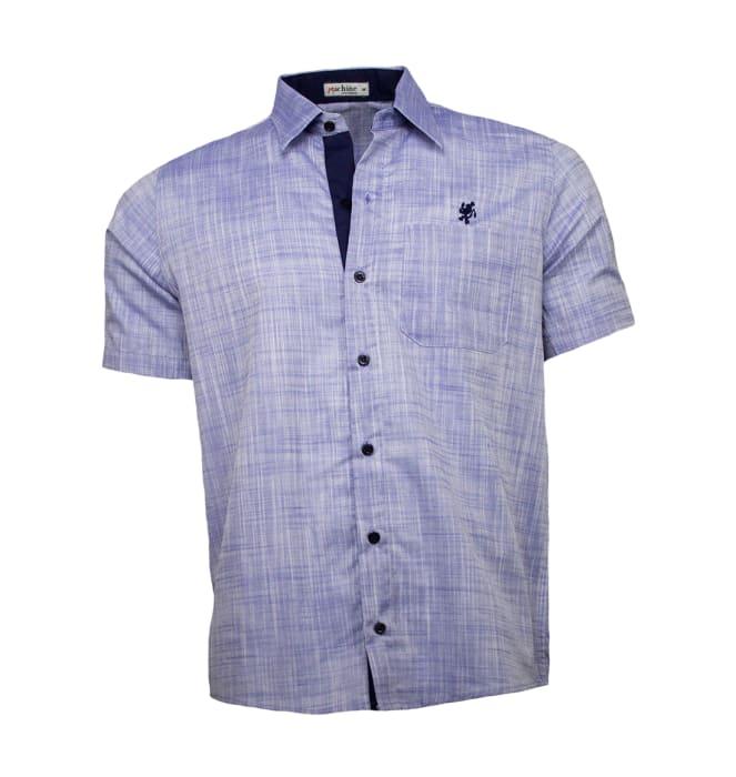 camisa-masculina-azul-mescla1220