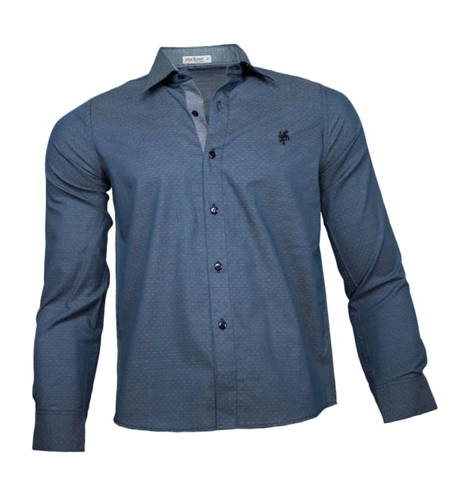 camisa-masculina-verde-cinza-poa1220