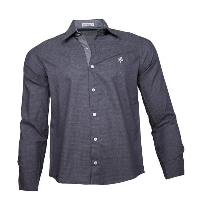 camisa-masculina-cinza-escuro-poa1220