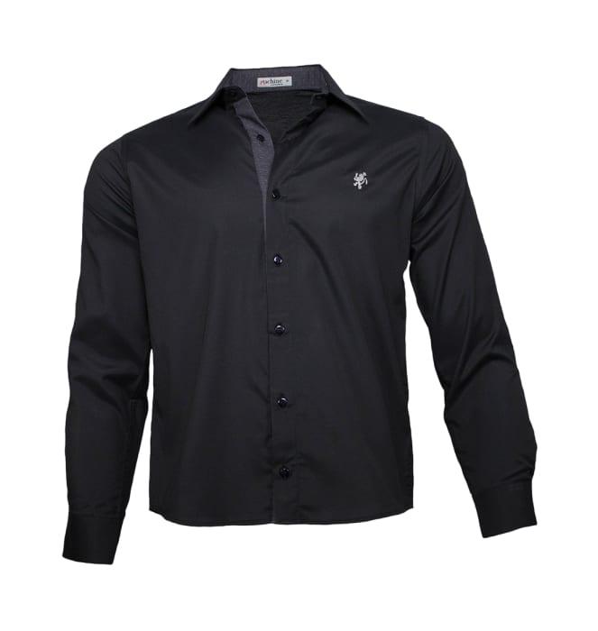 camisa-masculina-preta-cinza1220