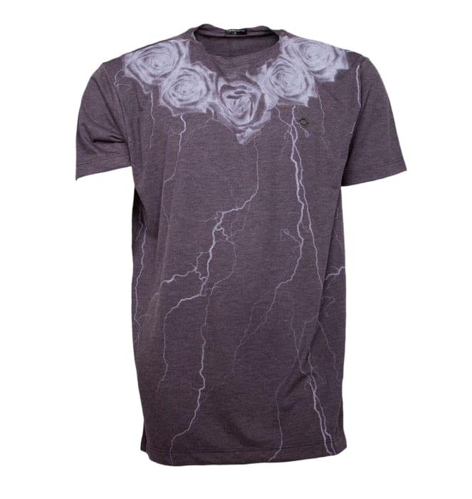 camiseta-flower-ray-cinza-vinho-dixie