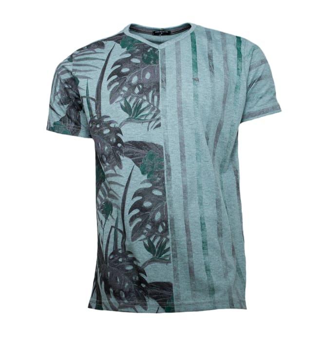 camiseta-half-flower-verde-dixie