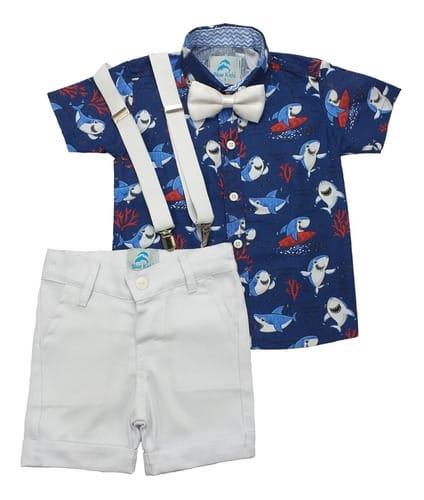roupa do baby shark