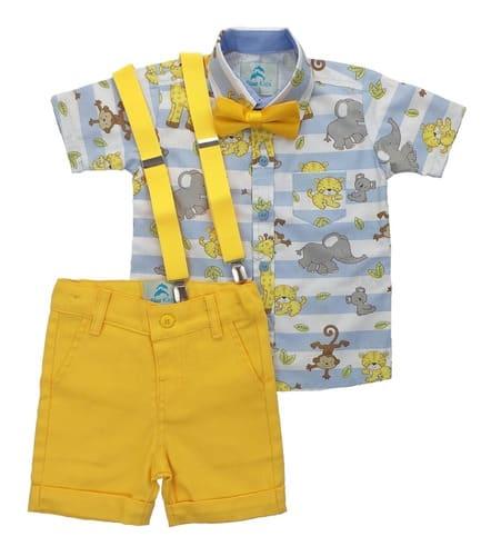 roupa infantil safari