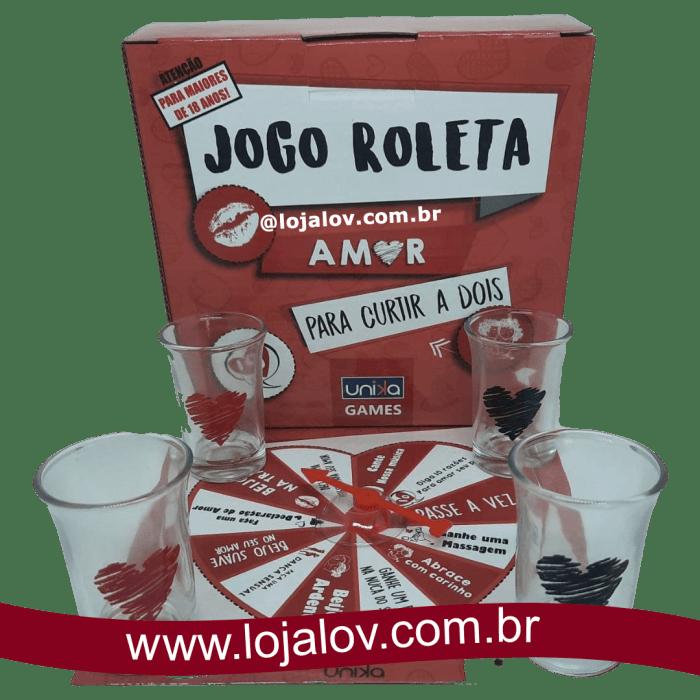 Jogo Erótico Roleta do Amor - Unika4You