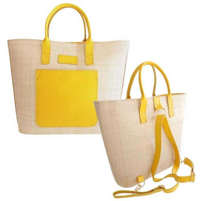 bolsa-mochila-amarela-kit