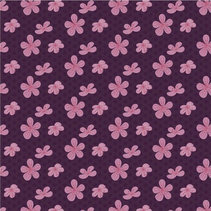 12809 – Flores em Marrom-1000x1000