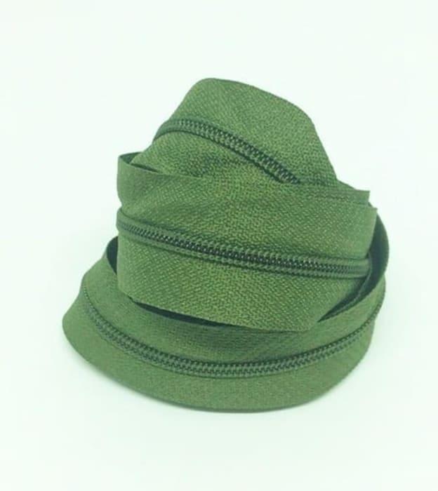 ziper verde m