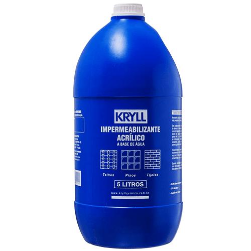 Impermeabilizante-Acrilico-A-Base-De-Agua-Kryll-5-Litros-Embalagem