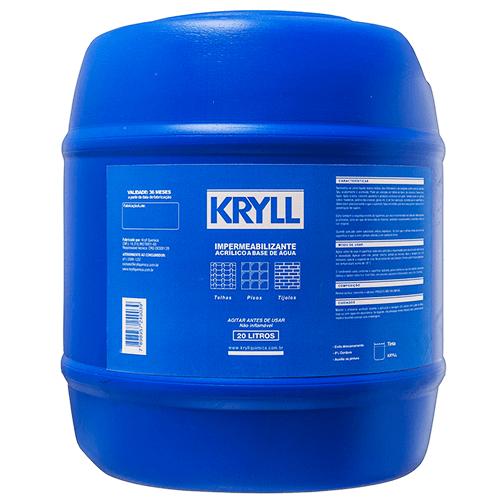 Impermeabilizante-Acrilico-A-Base-De-Agua-Kryll-20-Litros-Embalagem