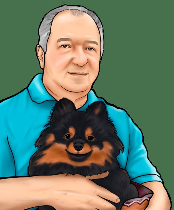 Caricatura com Pet