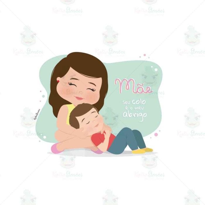 desenho-mãe-colo-abrigo