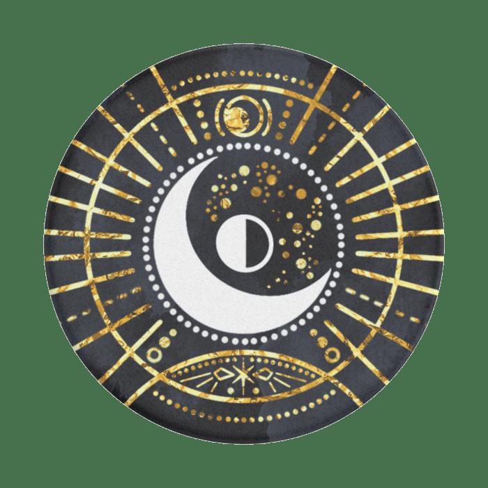 Popsockets Gen2 Gold Lunar Sigil Bk Suporte para Celular (big)