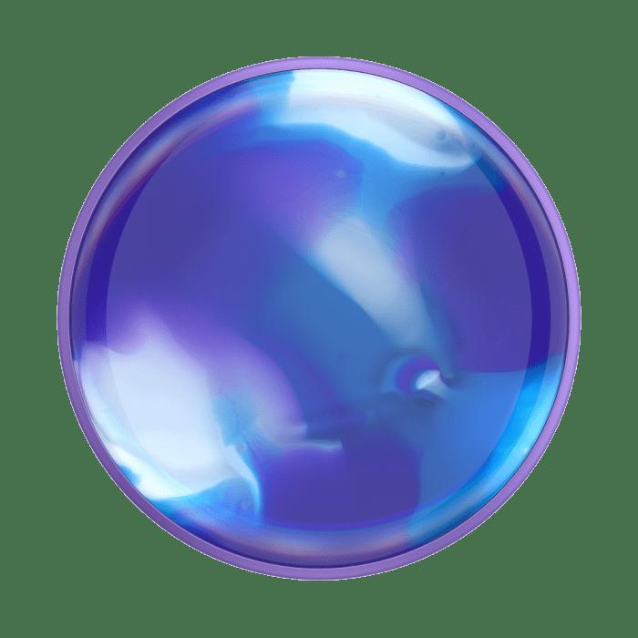 Popsockets Luxe Gen2 Swirl Blurple Suporte Para Celular Clip (big)