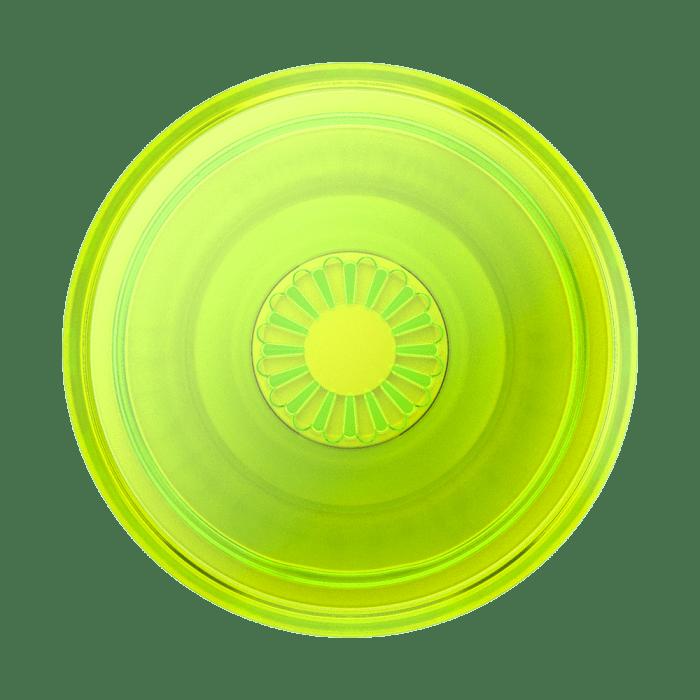 Popsockets Premium Gen2 Neon Glow Blazing Lime Transparente (big)