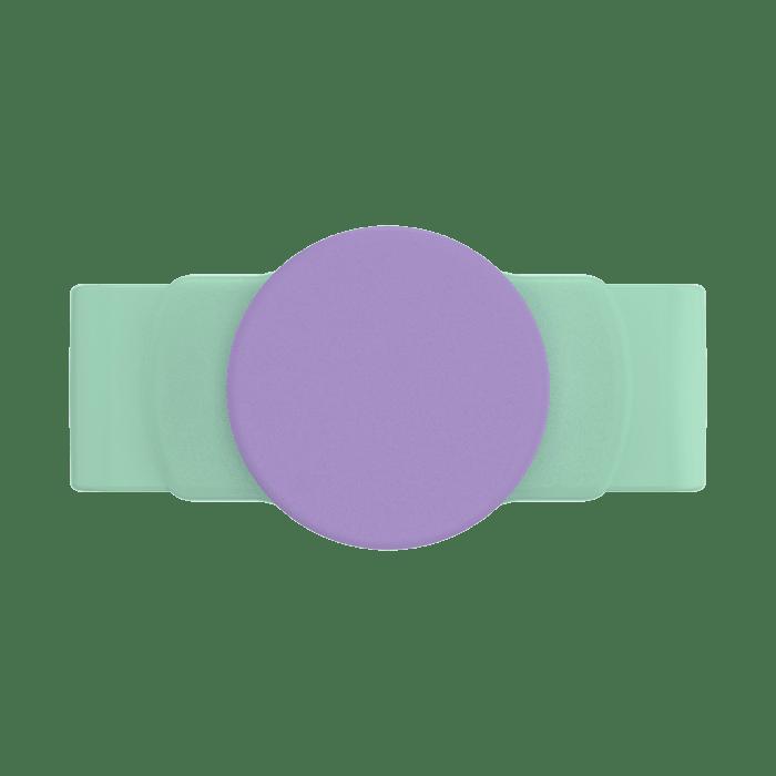 Ajustável Popsockets  Stretch Iris Mint Pu Um Suporte Celula (big)