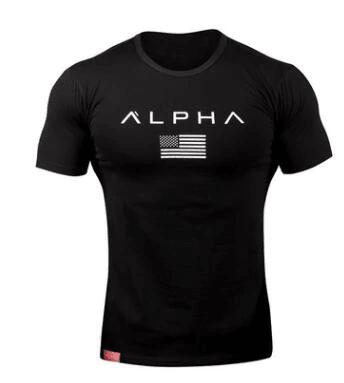 Camiseta Alpha Preto (big)