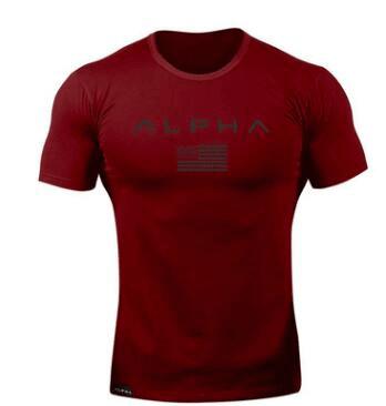 Camiseta Alpha Vermelho (big)