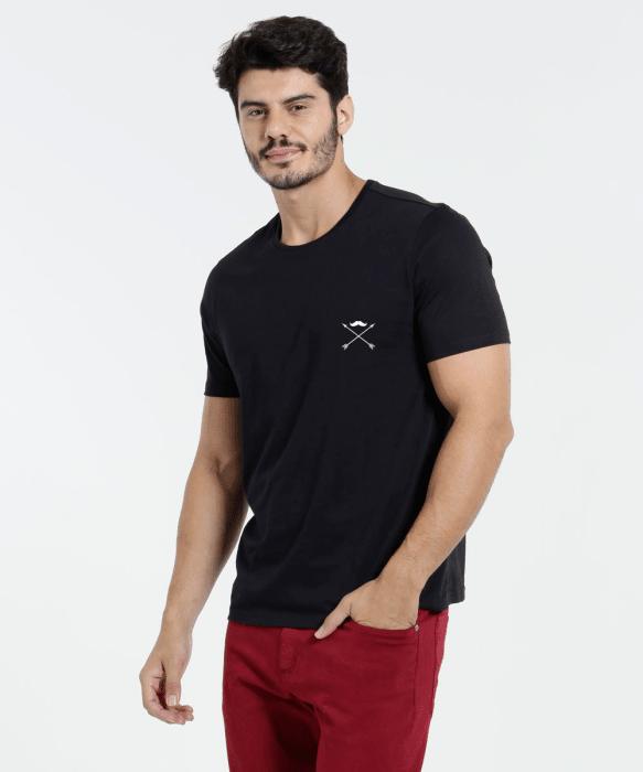 Camiseta Debonair X Preto (big)