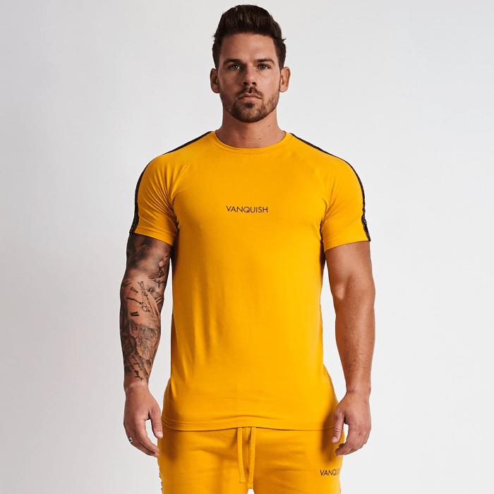 Camiseta Fit Amarelo (big)