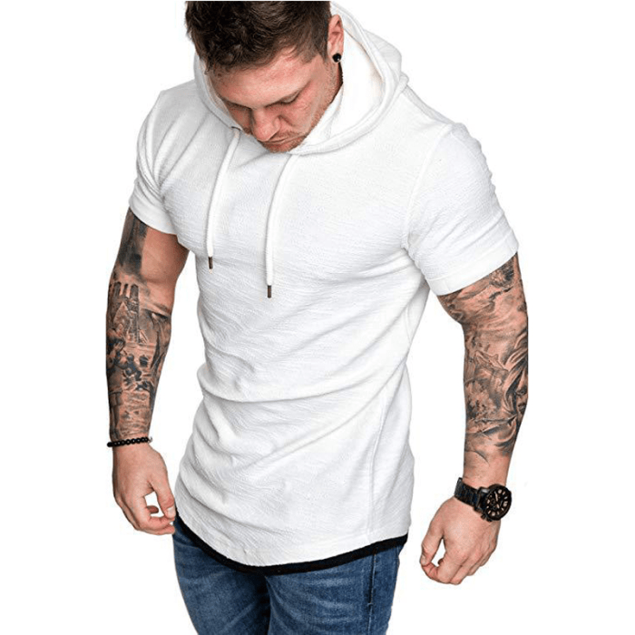 Camiseta Moletom Paien Branco (big)