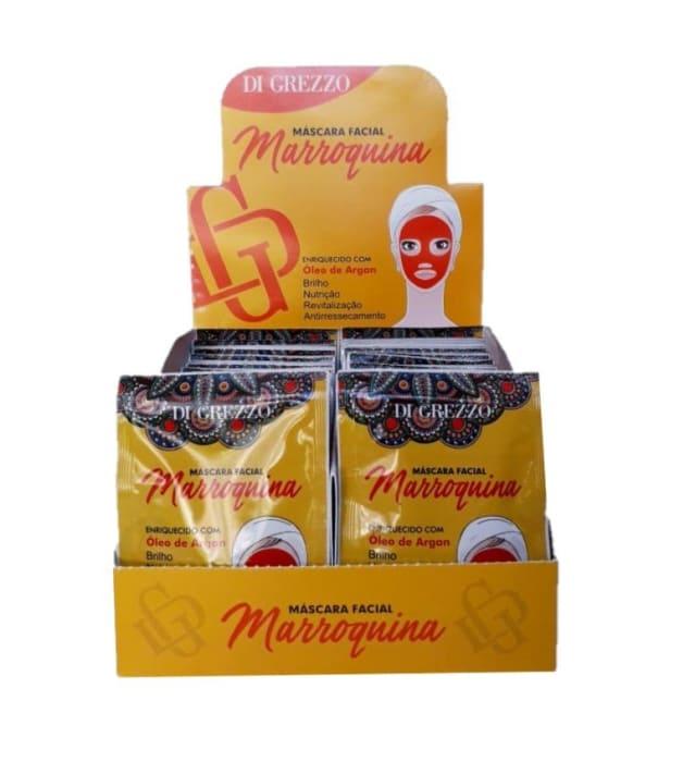 Box c/50 Un - Sachê Máscara Facial Marroquina 10g - Di Grezzo (big)