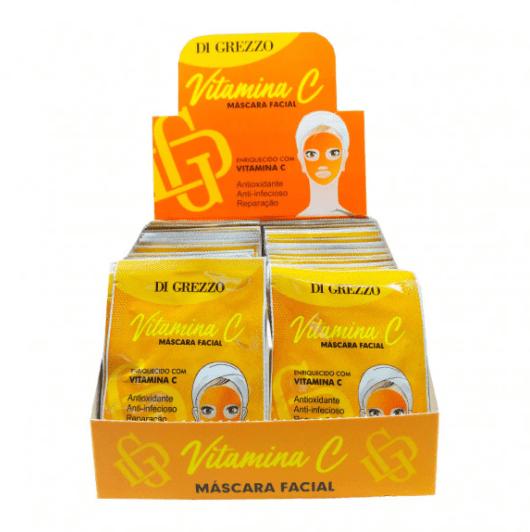 Box c/50 Un - Sachê Máscara Facial Vitamina C 10g - Di Grezzo (big)