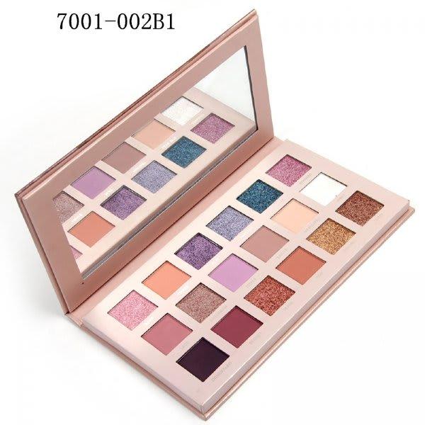 Paleta de Sombra New Nude 18 Cores/Colorida - Miss Rose - Ref. 7001-002B1 (big)