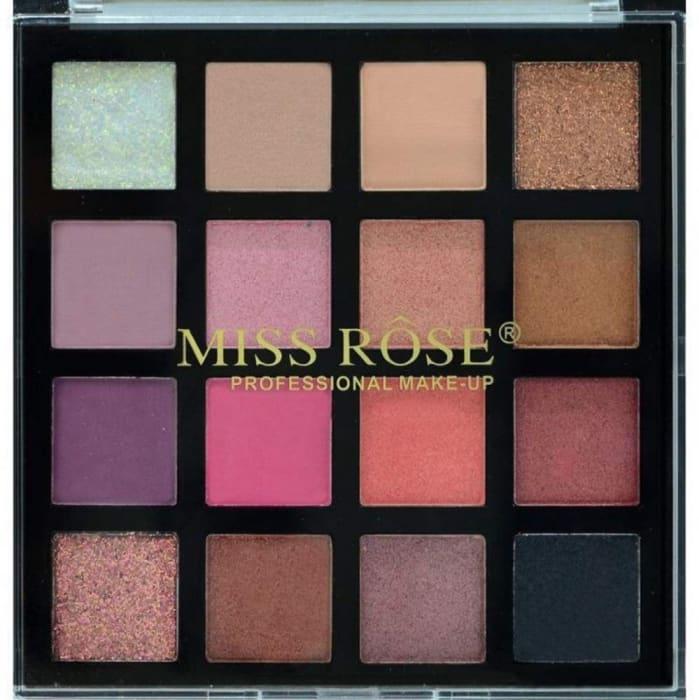Paleta de Sombra 16 Cores - Miss Rose - Ref. 7001-007Z12 (big)