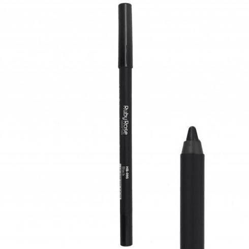 Lápis Delineador de Olhos Carbon Black Ruby Rose HB-050 (big)