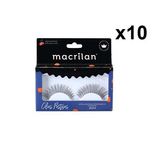 Box c/10 Un - CL3-4 - Cílios Postíços Fios Cruzados - Macrilan (big)