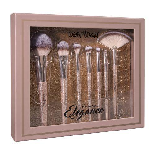 Kit com 7 Pincéis para Maquiagem Elegance - ED700  - Macrilan (big)