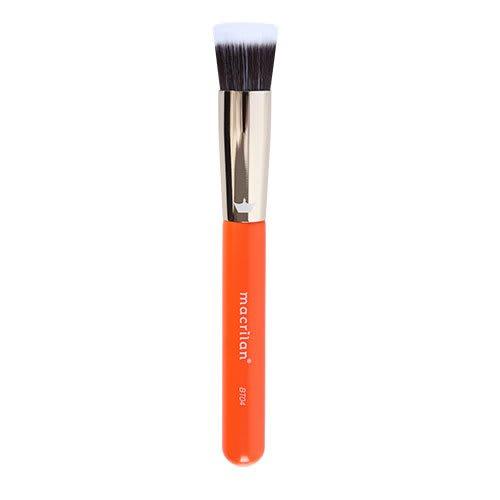 Kit c/6 Un - BT04 - Pincel Profissional Duo Fiber Kabuki - Linha Beauty Tools - Macrilan (big)