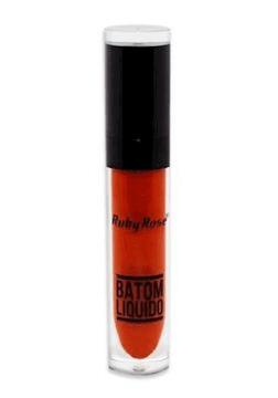 Batom Líquido Matte Ruby Rose Vermelho Cor 272 - HB8213 (big)