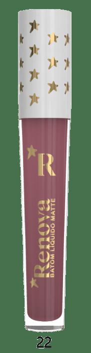 Batom Líquido Matte Renova Vidro Hot Stamping COR-22 (big)