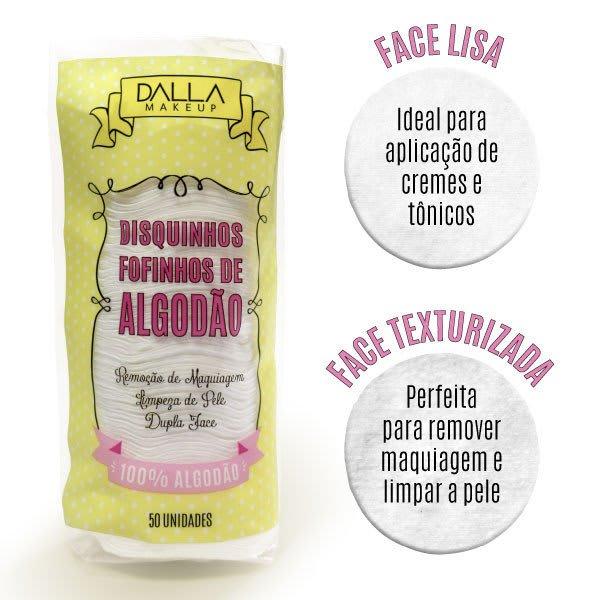 Discos de Algodão Dalla Makeup (big)