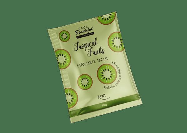 Sachê Esfoliante Facial Tropical Fruits Kiwi 10g - Face Beautiful (big)