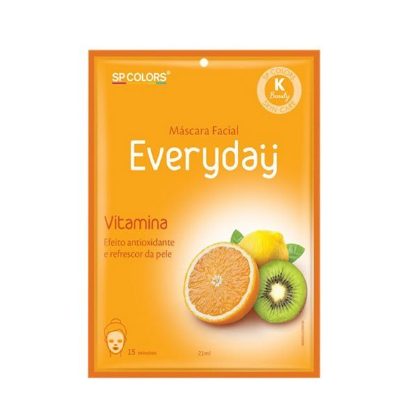Sachê Máscara Facial Everyday Vitamina 21ml - SP Colors - EV004 (big)