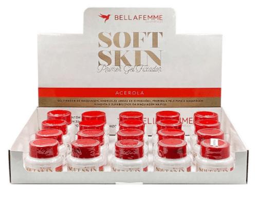 Box c/19 Un - Primer Gel Fixador Acerola Soft Skin - Bella Femme - SS80039 (big)