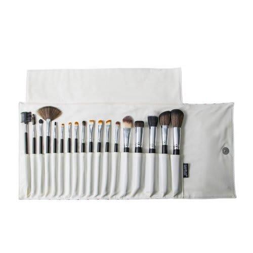KP3-8B - Kit Com 18 Pincéis Para Maquiagem Cores Sortidas - Macrilan (big)