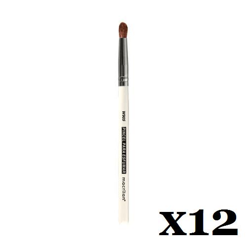 Caixa C/ 12 Und. - Pincel W905 profissional para esfumar Macrilan – Linha W (big)
