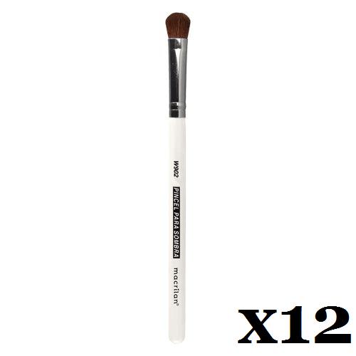 Caixa C/ 12 Und. - Pincel W902 profissional para sombra Macrilan – Linha W (big)