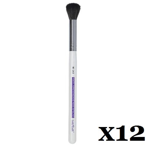 Caixa C/ 12 Und. - Pincel W143 profissional arredondado para detalhes Macrilan – Linha W (big)