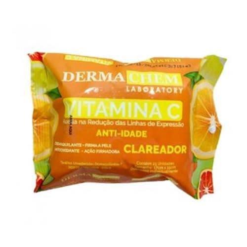 Lenço Demaquilante Vitamina C  - Derma Chem (big)