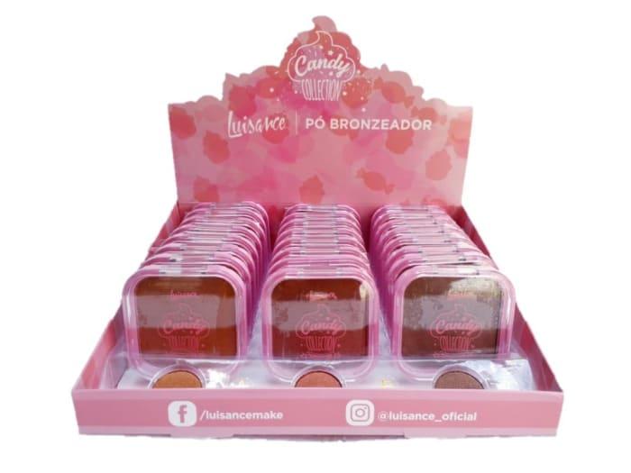 Box c/24 Un - Pó Bronzeador Candy Coletion - Luisance - L671 (big)