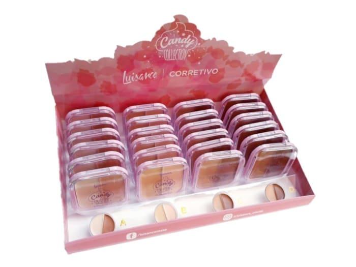 Box c/24 Un - Corretivo Candy Coletion - Luisance - L670 (big)