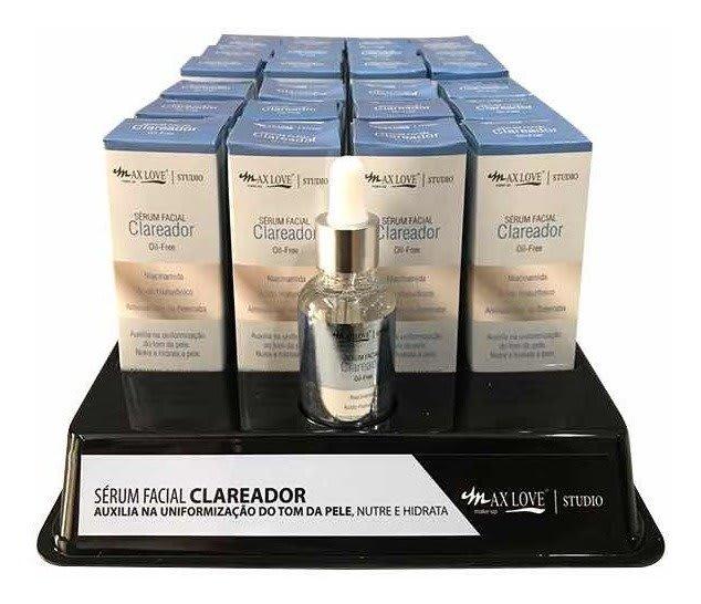 Box c/24 Un - Sérum Clareador Oil-Free 30ml - Maxlove (big)