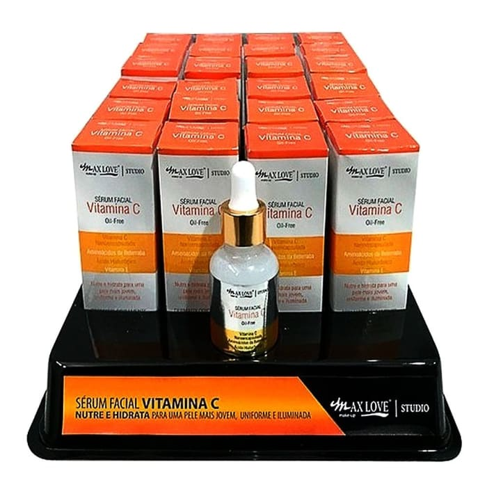 Box c/24 Un - Sérum Facial Vitamina C - Maxlove (big)
